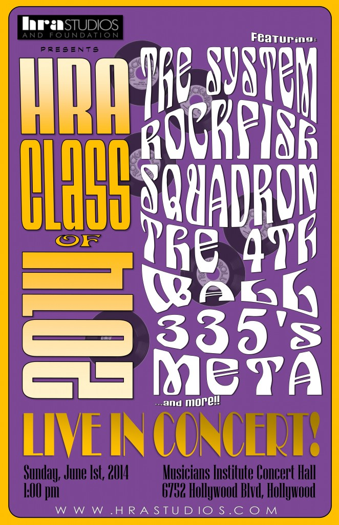 HRA Poster Purple