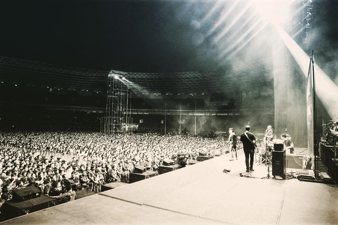 HRA Alumni Jason Pitts Opens for Bon Jovi in Indonesia