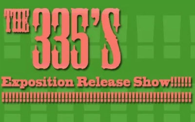 "The 335's release new EP ""Exposition"" on Friday March 11"