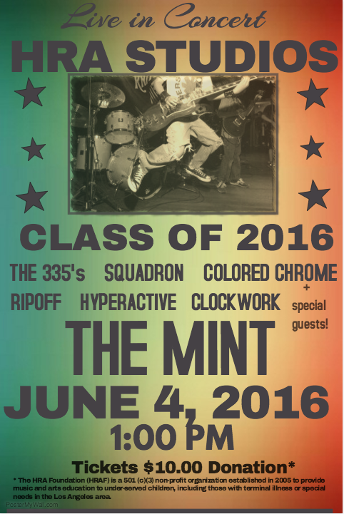 HRA 2016 Poster The Mint