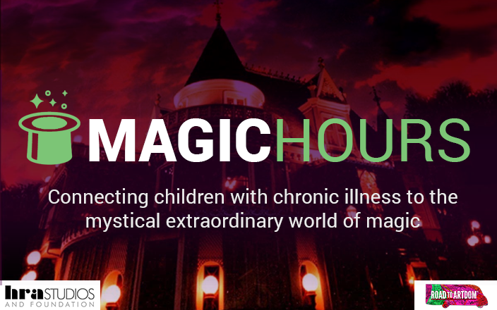 Help at risk kids go to Magic Castle & Learn Magic